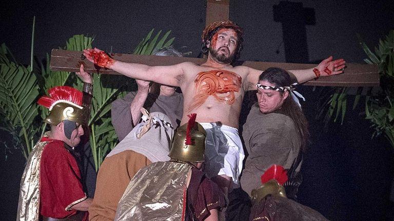 Jesus of Nazareth, played by David Echeverria, is