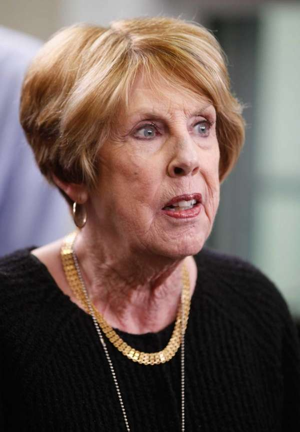 Sarah Brady, the wife of former White House