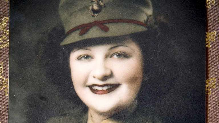 Tess Garber, of Jericho, was a sergeant with