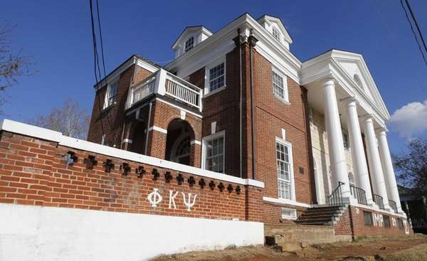The Phi Kappa Psi fraternity house at the