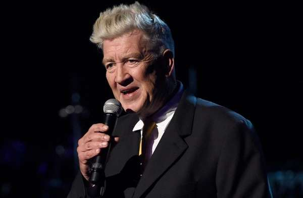David Lynch speaks at the David Lynch Foundation
