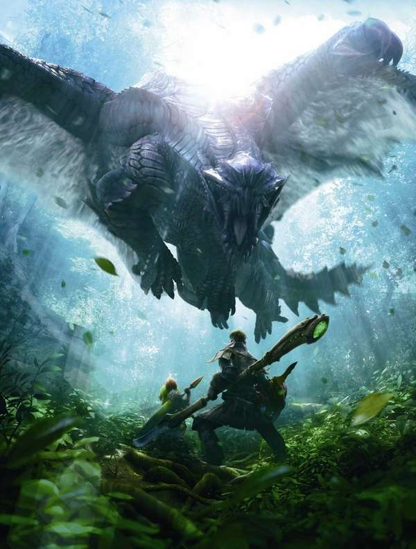 Art from video game : Monster Hunter 4