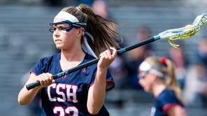 Cold Spring Harbor attacker Kata Kotowski handles the