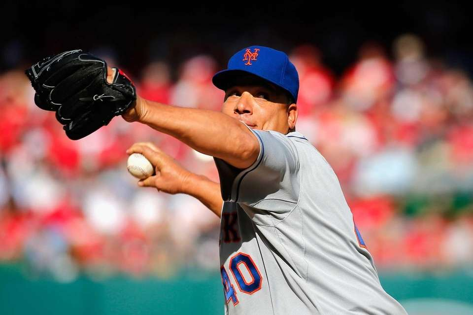 Starting pitcher Bartolo Colon of the New York