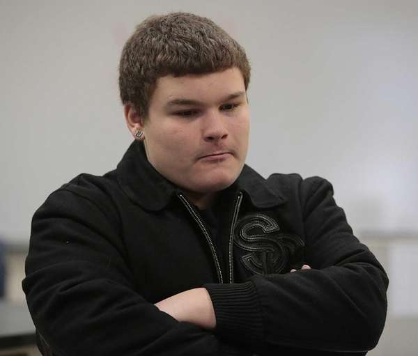 Mike Manesis, a student in the new program,