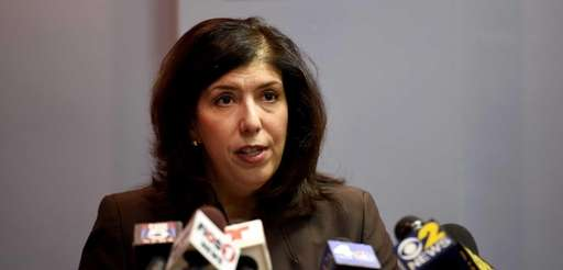 Acting Nassau County District Attorney Madeline Singas at