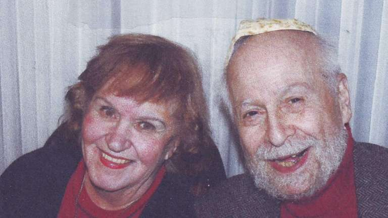 Judy and Alan Lewis of Westbury in a