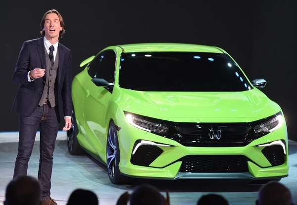 Designer Guy Melville-Brown introduces the Honda Civic concept