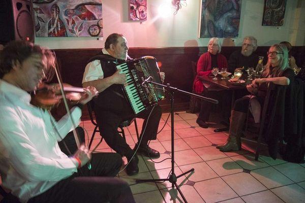 Balkan music is performed by the Ivan Milev