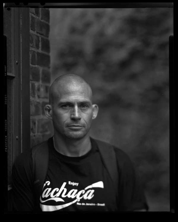 Author Atticus Lish, winner of the 2015 PEN/Faulkner
