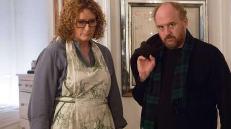 Louie C.K. and Judy Gold (as Marina) in