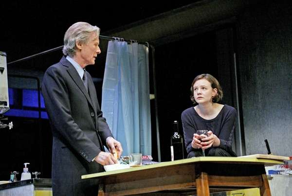 Bill Nighy and Carey Mulligan in