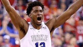 Justise Winslow #12 of the Duke Blue Devils