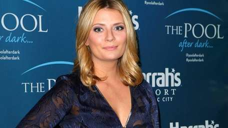 Actress Mischa Barton appears at The Pool After