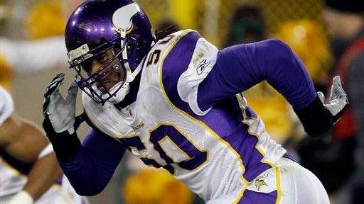Erin Henderson of the Minnesota Vikings.