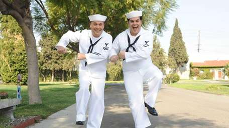 THE COMEDIANS -- Pictured: Billy Crystal, Josh Gad.