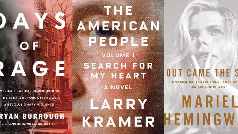 New releases from Bryan Burrough, Larry Kramer and