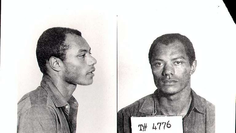 Frank Nelson in a 1960s police mug shot.