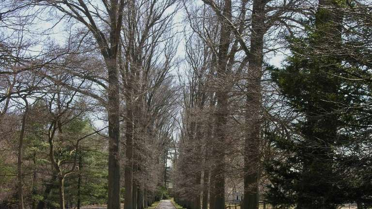This 11.35-acre Old Westbury property, on the market
