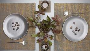 Silicone place mats, table runners ($120) and coasters
