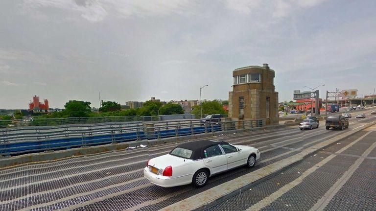 The Bruckner Bridge in the Bronx.