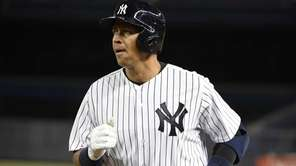 New York Yankees designated hitter Alex Rodriguez returns