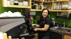 Marlene Flores, the owner of Mar le Cafe
