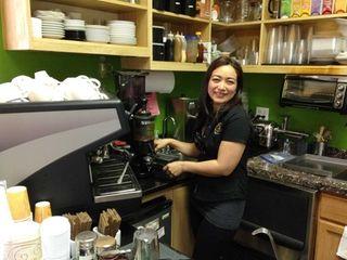 Marlene Flores, the owner of Mar le Cafe