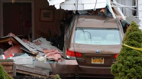 A 59-year-old Manorville man was injured when he