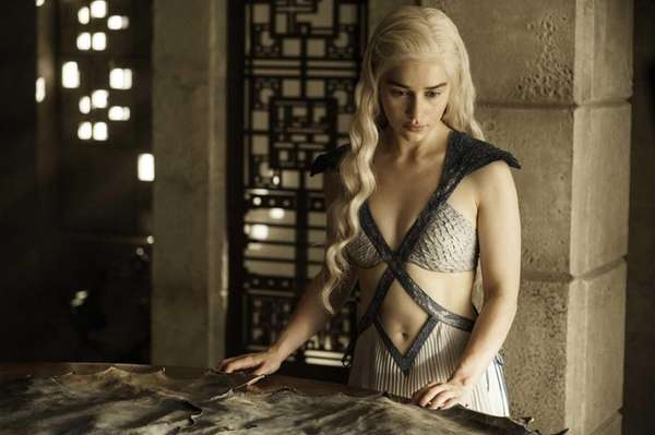 In this image released by HBO, Daenerys Targaryen,