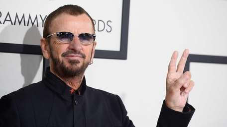 Ringo Starr will be inducted into the Rock
