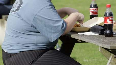 Obese individuals who had body mass indexes of