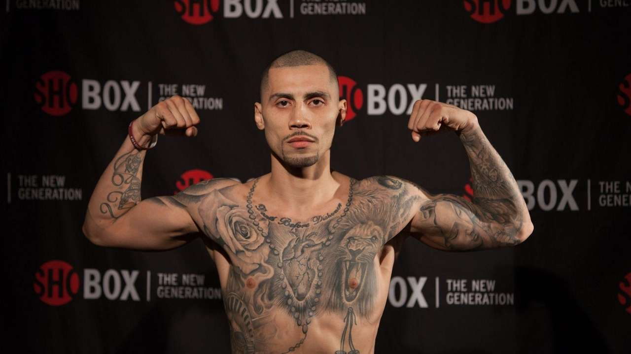Frank Galarza is a professional boxer from Brooklyn.