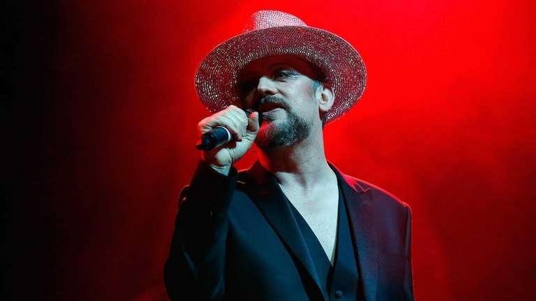 Boy George performs live on stage at Indigo2