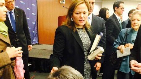 Melissa Mark-Viverito, the speaker of the New York