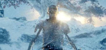 """A White Walker in season 4's """"Oathkeeper."""""""