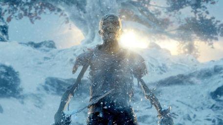 A White Walker in season 4's