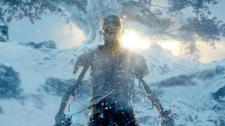 A White Walker in season 4's