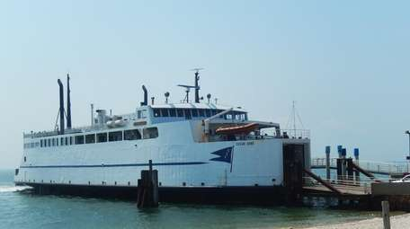 The Cross Sound Ferry in Orient. (June 21,