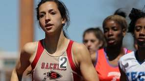 Sachem East's Alexandra DeCicco takes first place in
