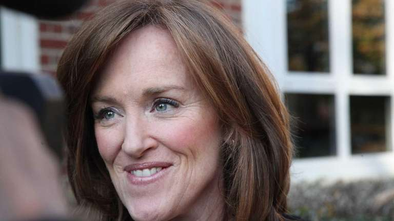 Nassau County District Attorney Kathleen Rice is seen