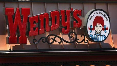 A Wendy's logo on June 13, 2011. An