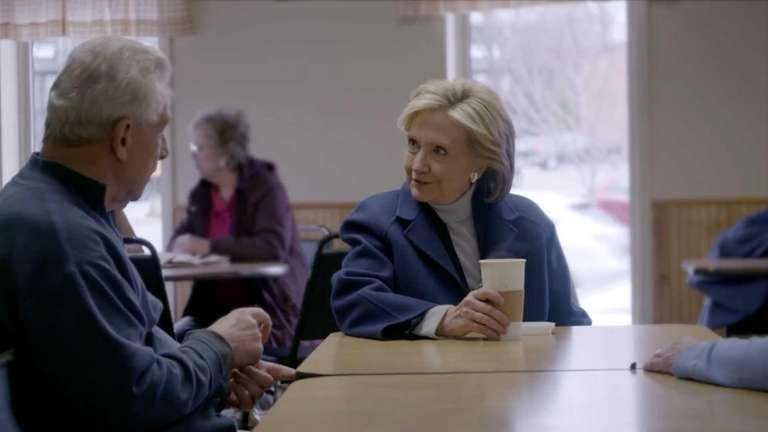 Hillary Clinton says she's running for president in