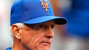 Terry Collins of the New York Mets looks