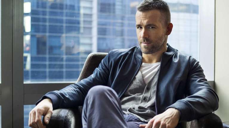 Canadian actor Ryan Reynolds poses for a portrait
