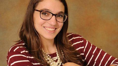 Amanda Spaccarelli, a senior at Ward Melville High