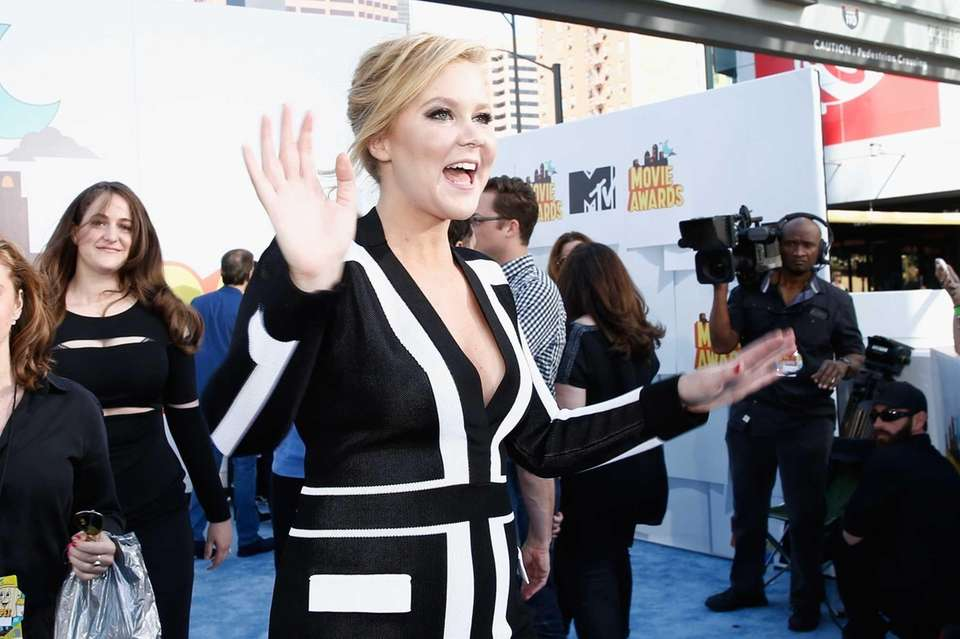 Host Amy Schumer arrives for the MTV Movie