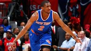 Langston Galloway #2 of the New York Knicks