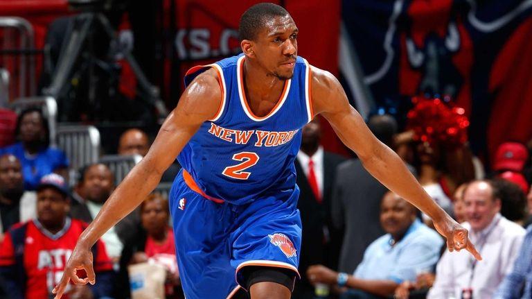 Langston Galloway #2 of the New York Knicks
