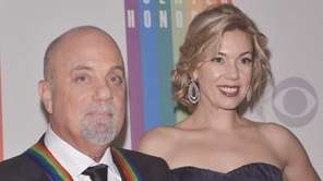 Billy Joel and girlfriend Alexis Roderick on the